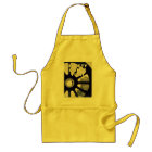 Railroad Safety Comes First Vintage Adult Apron