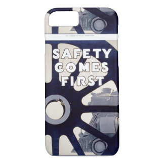 Railroad Safety Comes First Vintage iPhone 7 Case