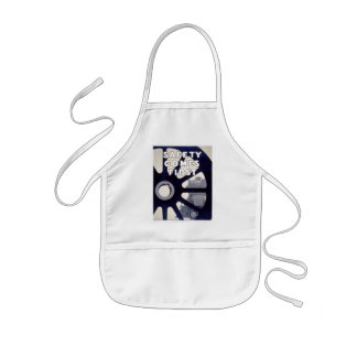 Railroad Safety Comes First Vintage Kids' Apron