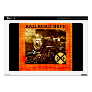 "Railroad Scenery 17"" Laptop Decal"