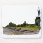 Railroad Scenery Mouse Pad