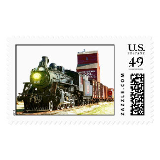 Railroad Scenery Postage