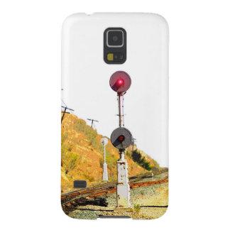 Railroad Searchlight Signal Galaxy S5 Cases