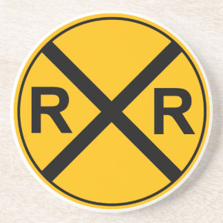 Railroad Sign Coaster
