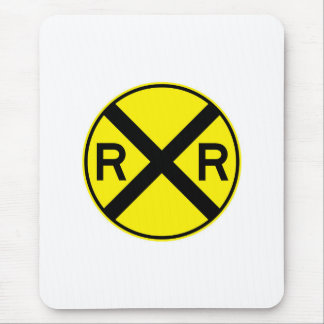 Railroad Signals And Signs Mouse Pad