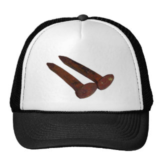 Railroad Spikes Trucker Hat