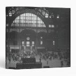 Railroad Station Vinyl Binders