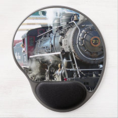 Railroad Steam Engine Mousepad at Zazzle