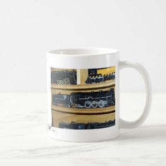"Railroad Steam Engines....""Steamin On"" Coffee Mug"