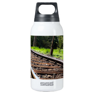 railroad track 10 oz insulated SIGG thermos water bottle