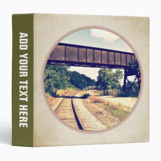 Railroad Tracks And Trestle Binder