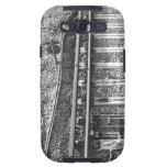 Railroad Tracks, Black and White Picture. Samsung Galaxy S3 Cover