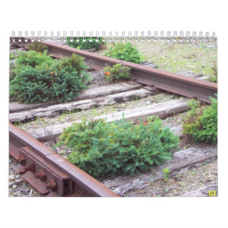 Railroad Tracks Calendar