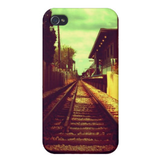Railroad Tracks Cover For iPhone 4