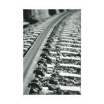 Railroad tracks lona envuelta para galerias
