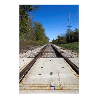 Railroad Tracks Photo Print