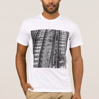Railroad Tracks Picture. T-Shirt