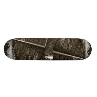 Railroad Tracks, Railroad Tracks, Railroad Tracks Skateboard Deck