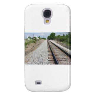 Railroad tracks samsung galaxy s4 cover