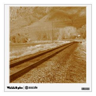 Railroad Tracks Wall Sticker