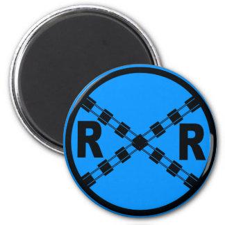Railroad Traffic Street Sign Magnets
