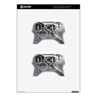 Railroad Train Car Wheels Hitting the Tracks Xbox 360 Controller Skins