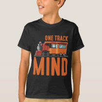 Railroad Train Lover Locomotive steam engine T-Shirt