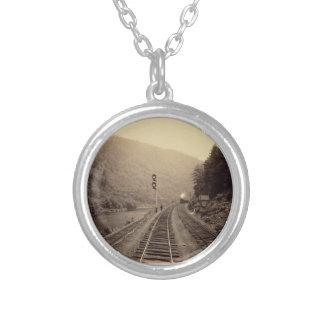 Railroad & Train Necklace -#1