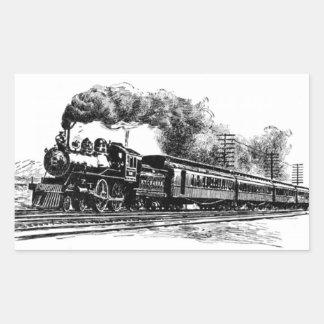 Railroad Train Sticker