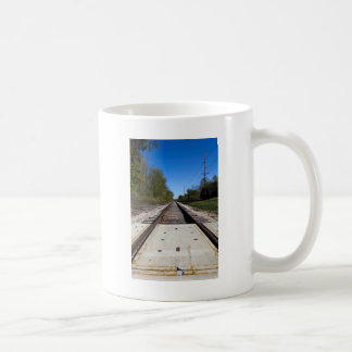 Railroad Train Tracks Coffee Mug