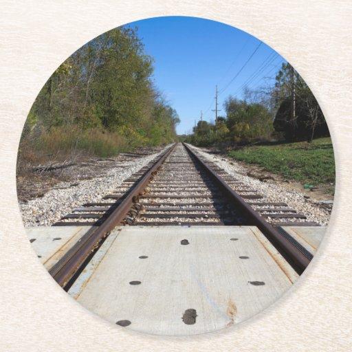 how to make paper train tracks