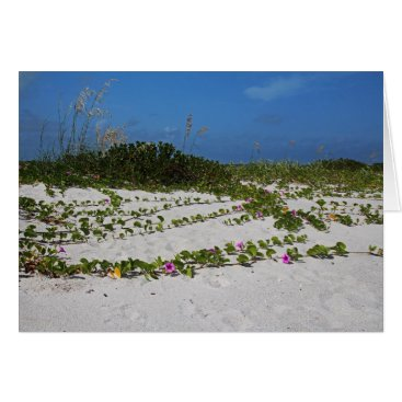 Beach Themed Railroad Vines on Boca I Card