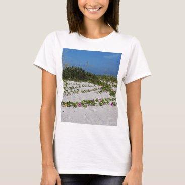 Beach Themed Railroad Vines on Boca I T-Shirt