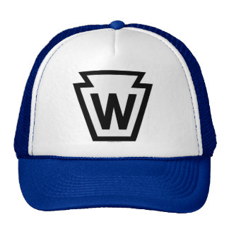 Railroad Whistle Sign Trucker Hat