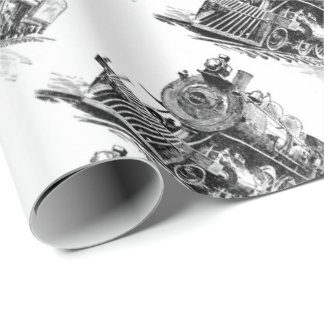 Railroad Wrapping Paper