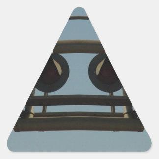 Railroaded Triangle Sticker