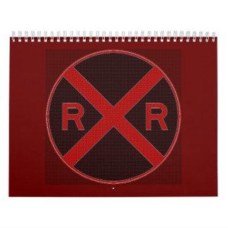 Railroadiana Collector Calendar