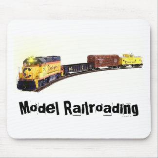 Railroadiana Mouse Pad