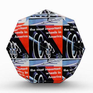 Railroads-Most Important Wheels in America Acrylic Award