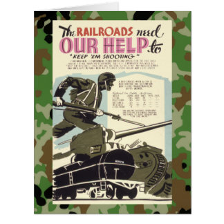 Railroads Need Our Help Card