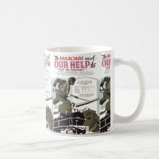 Railroads Need Our Help Coffee Mug