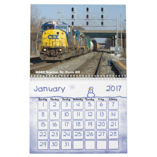 Railroads of Maryland Volume 1-Captioned Calendar