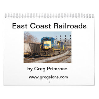 Railroads of the East Coast V1 Calendar