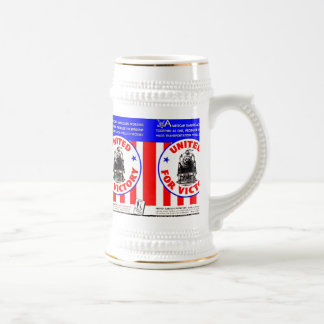 Railroads United For War Effort 1940 Beer Stein