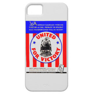 Railroads United For War Effort 1940 iPhone 5 Cases