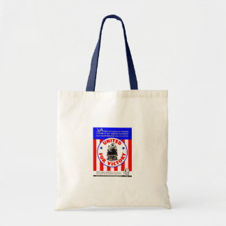 Railroads United For War Effort 1940 Tote Bags