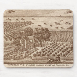 Railsback, Hackett ranches Mouse Pad