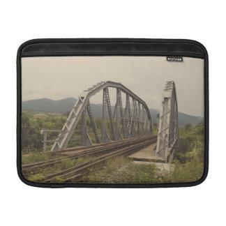 Railway bridge MacBook air sleeves