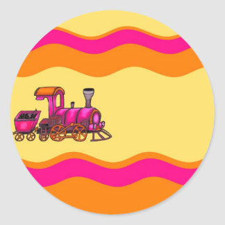 Railway Classic Round Sticker