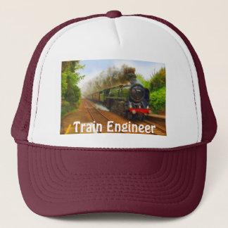 Railway Enthusiast Steam Train Engineer Hat Series